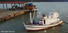 Uusi esittelyvene edistää ihmisoikeuksia Thaimaan kalastusteollisuudessa