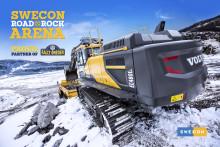 Invigning av Swecons nya arena på Svenska Rallyt