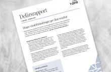 Akademiska Hus delårsrapport 1 januari – 31 mars 2019