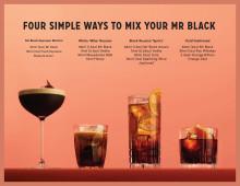 Mr Black Cocktails