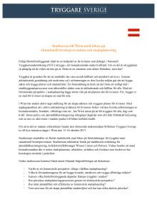 Inbjudan till studieresa Wien 15-18 oktober, 2017