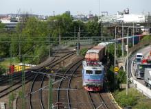 Stark höst för järnvägstrafiken i Göteborgs hamn