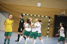 Hammarby utnämndes till Bästa flickförening 2013-2014 i ST-cupen