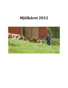 Mjölkåret 2012
