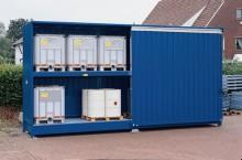 Container, sjöcontainer eller container för kemikalieförvaring?!