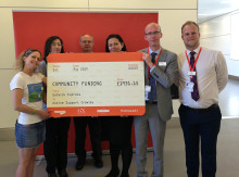 Gatwick Express team activities give boost to local autism charity