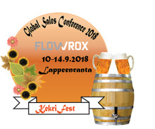 Flowrox 26th Sales Conference in Lappeenranta, Finland