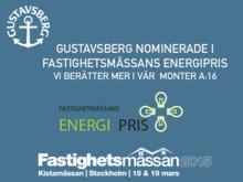 Gustavsberg nominerade till Fastighetsmässans energipris