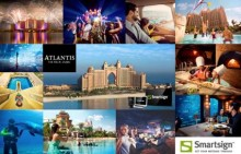 Smartsign is helping guests at Atlantis The Palm, Dubai to keep updated about what's on