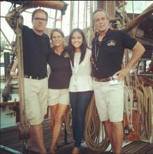 Lars Nerhus, a legacy of Vega, celebrates Vega's 120th anniversary at Boat Asia Singapore!