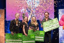 Här är samtliga vinnare i Venture Cup Nords regionfinal