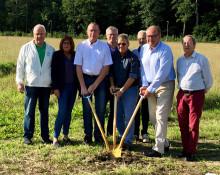 Arbogas nya förskola – här tas det första spadtaget