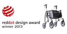 Rollatorn Jazz 610 från Invacare vinner prestigefullt designpris