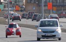LTUs studentbil Baldos II på Europaturné