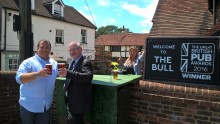 Cheers! award winning East Sussex pub helps villagers get superfast broadband