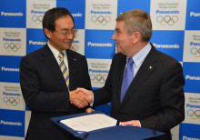 Panasonic Signs Official Worldwide Olympic Partnership