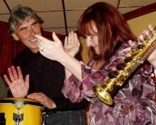 Liza Larson, Lasse Åberg och Swingville Seven – då blir det jazz som det svänger om!