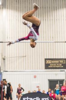 Marcela Torres svensk mästarinna i artistisk gymnastik för tredje året i rad
