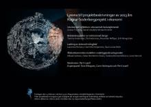 Presentationer av Ragnar Söderbergprojekt i ekonomi vid Handelshögskolan i Stockholm
