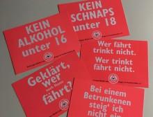 """Gefahr durch Alkohol vor """"Augen"""""""