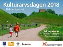 Kulturarvsdagen 2018 firas på flera platser i Lindesberg