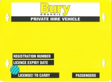 ​Stay safe – make sure your taxi is licensed
