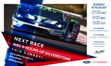 Mistrovství světa vytrvalostních závodů pokračuje šestihodinovkou v Silverstone