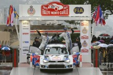 Volkswagen finishes WRC Monte Carlo Rally in second place