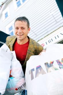 Det norske folk ga 15.500 tonn med klær til Fretex i 2015