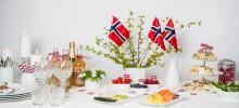 Norgesglass – pynt opp til 17. mai!