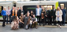 Celebrations take place as London Midland names train Lichfield Festival