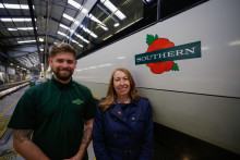 ​Rail remembers workers' wartime service with launch of poppy train