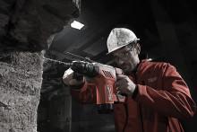 Milwaukee sender den mest hårdtslående 3 kg SDS-plus hammer på markedet!