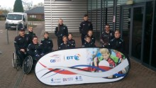 BT boost for Ospreys junior wheelchair rugby team