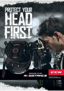 CCM Resistance - Protect your head first!