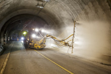 Hvitslemming av tunneler gir økt trafikksikkerhet og redusert ulykkesrisiko