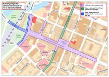 Avstängning Rudbecksgatan Race Day 7-12 september 2016