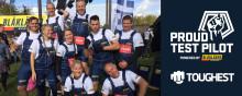 10 HANTVERKSTJEJER BILDAR TEAM BLÅKLÄDER HARDWORKING WOMEN - PÅ TOUGHEST I MALMÖ!
