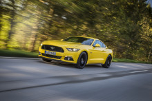 Ikonet kommer til Danmark – stærk, sportslig og sexet Ford Mustang med op til 421 hk