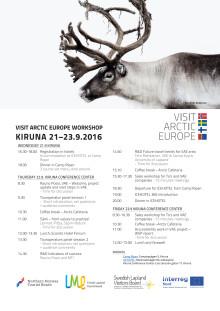 Agenda för workshopen i Kiruna