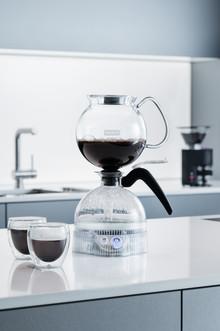 BODUM introduces the ePEBO vacuum coffee machine.