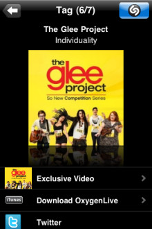 "Get More of ""The Glee Project"" With Shazam!"