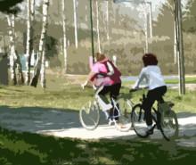 Knappt hälften går eller cyklar till skolan