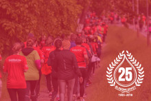 Blodomloppet 25-årsjubilerar med 18 000 deltagare