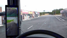 Digitala backspeglar på lastbilar ökar trafiksäkerheten