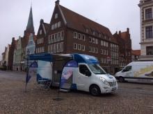 Beratungsmobil der Unabhängigen Patientenberatung kommt am 4. Juli nach Lüneburg.