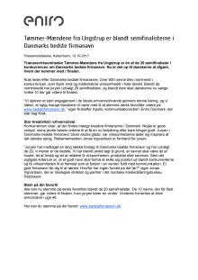Tømmer-Mændene fra Ungstrup er blandt semifinalisterne i Danmarks bedste firmanavn