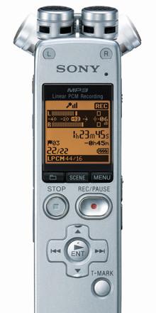 Nuovi registratori digitali Sony per salvare ogni parola