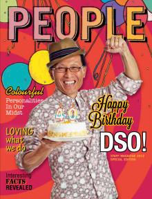 DSO's 40th Anniversary Staff Magazine