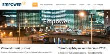 Ambientia uudisti Empowerin verkkosivut